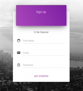 bootstrap ui template